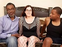 Busty mom PAWG has Holes Filled By BIG BLACK COCKS - interracial